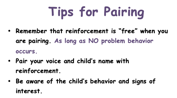 Tips for Pairing