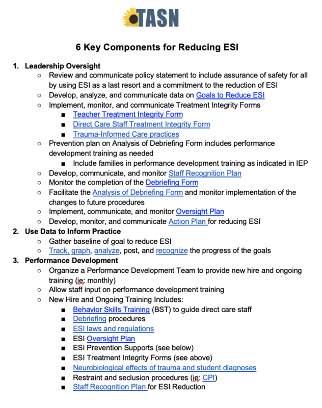 6 Key Components for Reducing ESI