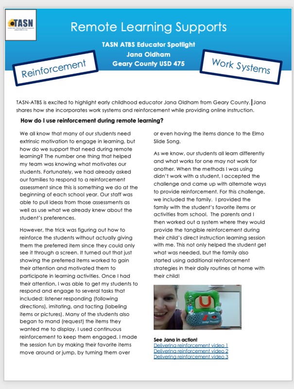 Picture of January 2021 newsletter